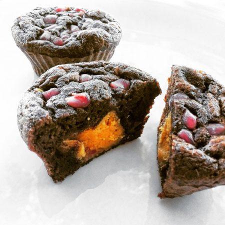 Fitness cuketové muffiny - zdravý recept Bajola