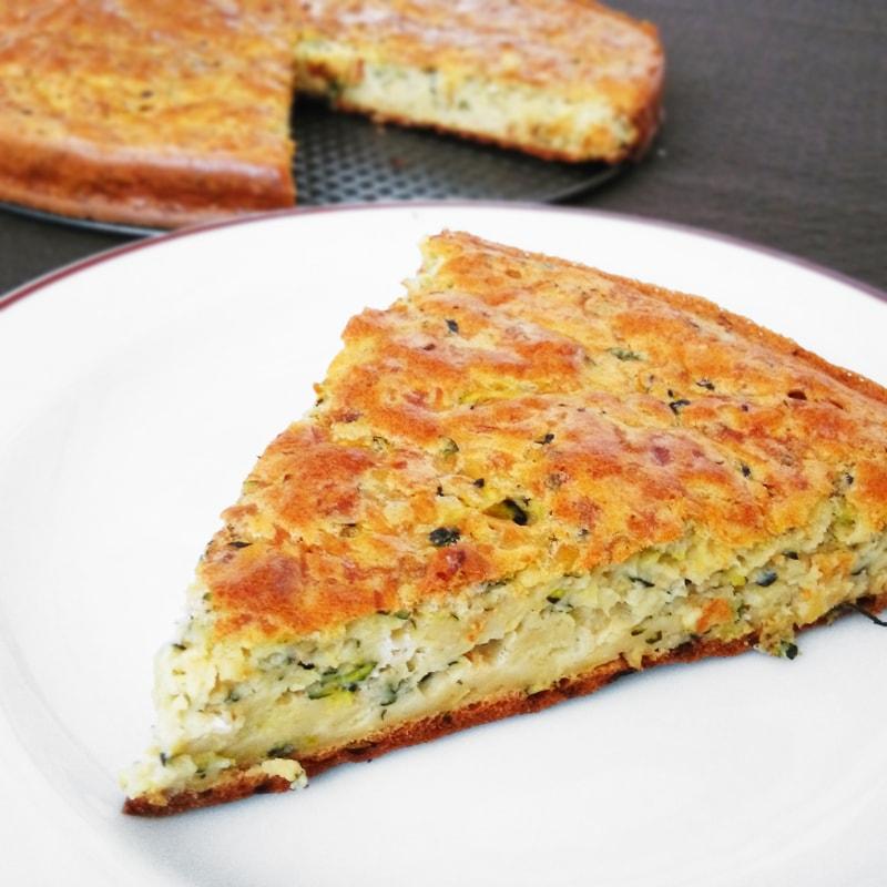 Fitness cuketový koláč - zdravý recept Bajola