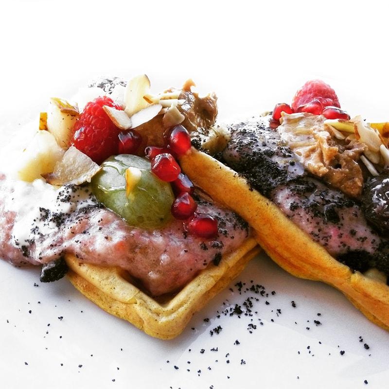 Fitness dýňové vafle - zdravý recept Bajola