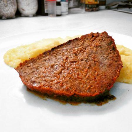 Fitness hovězí sekaná s bramborovou kaší - zdravý recept Bajola