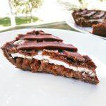 Fitness jablkový koláč s tvarohem - zdravý recept Bajola
