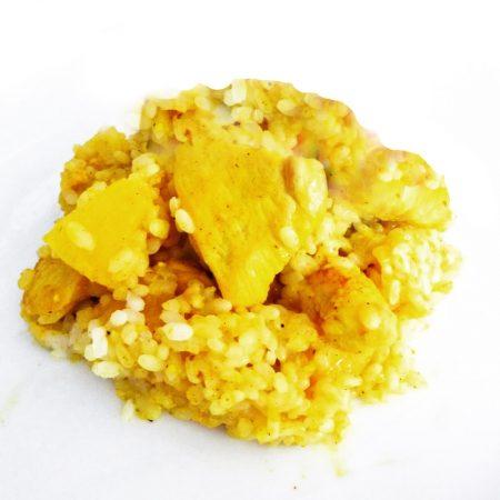 Fitness kuřecí prsa na kari a ananasu - zdravý recept Bajola
