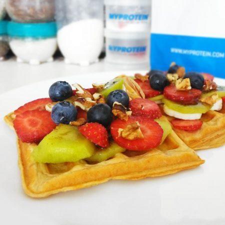 Fitness mrkvové vafle - zdravý recept Bajola