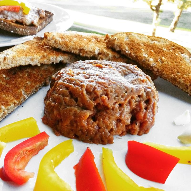 Fitness tatarský biftek - zdravý recept Bajola