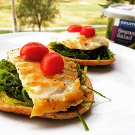 Fitness tilapie s mořskými řasami - zdravý recept Bajola
