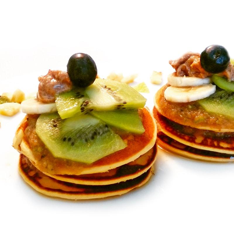 Fitness tvarohové lívance - zdravý recept Bajola