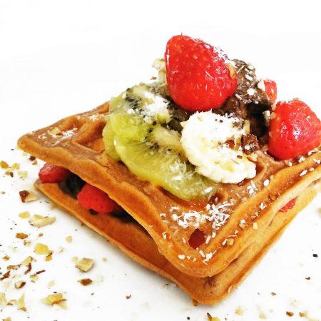 Fitness jogurtové vafle - zdravý recept Bajola