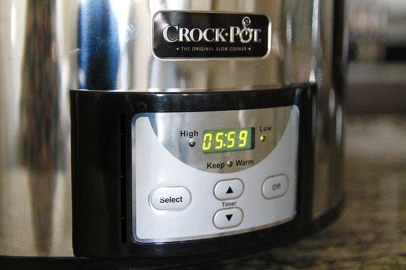 3c13ca200 Digitální časovač na pomalém hrnci Crockpot - Bajola - Fit bez diet