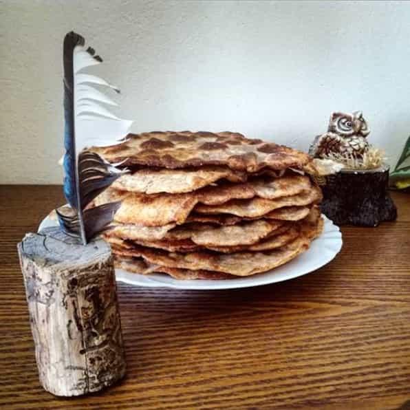 Fitness arabský chléb