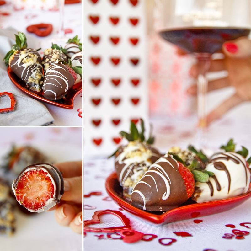 Fitness jahody v čokoládě - zdravý recept Bajola