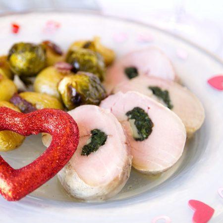 Fitness plněná panenka - zdravý recept Bajola