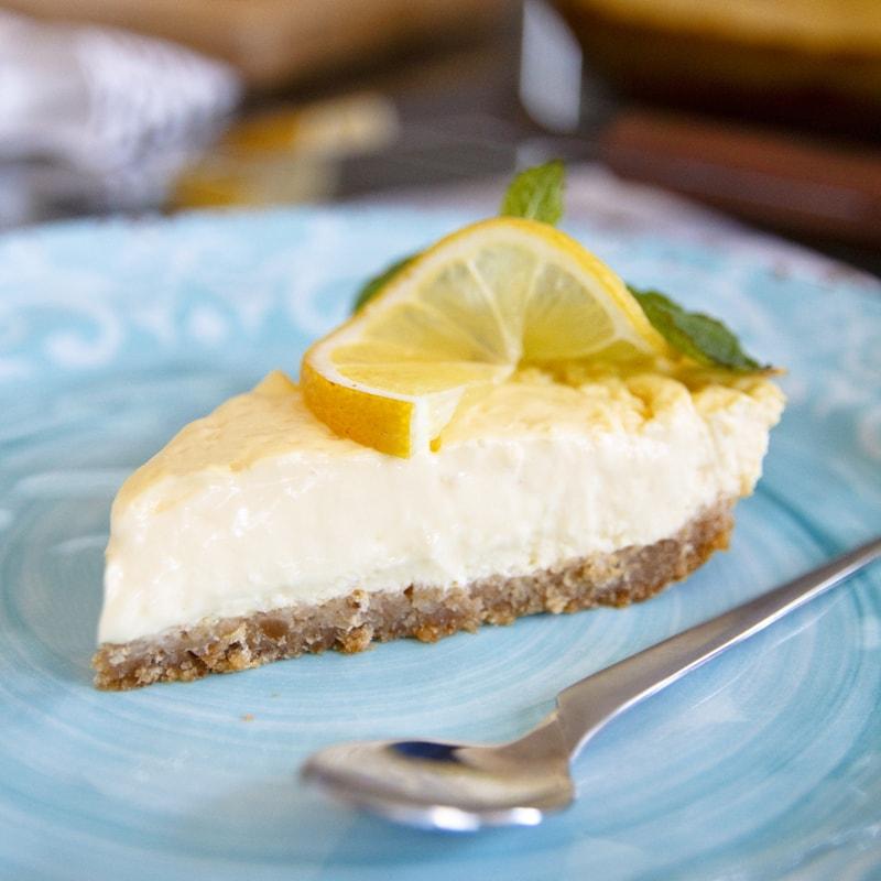 Fitness citrónový cheesecake - zdravý recept Bajola