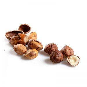 Lískové ořechy jádra