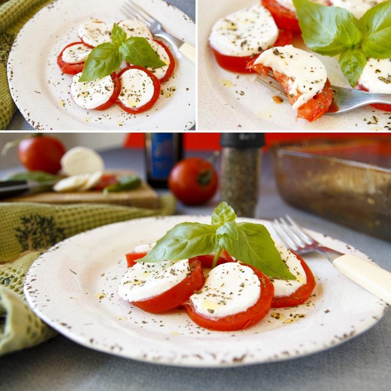 Fitness salát Caprese - zdravý recept Bajola