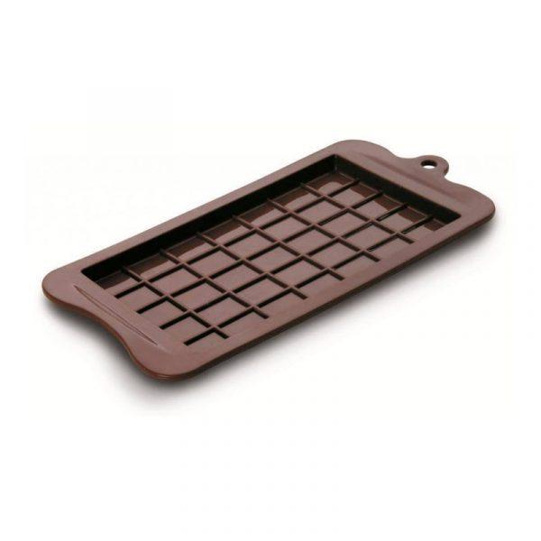 Silikonová forma na čokoládu Ibili - tabulka - 25x12 cm