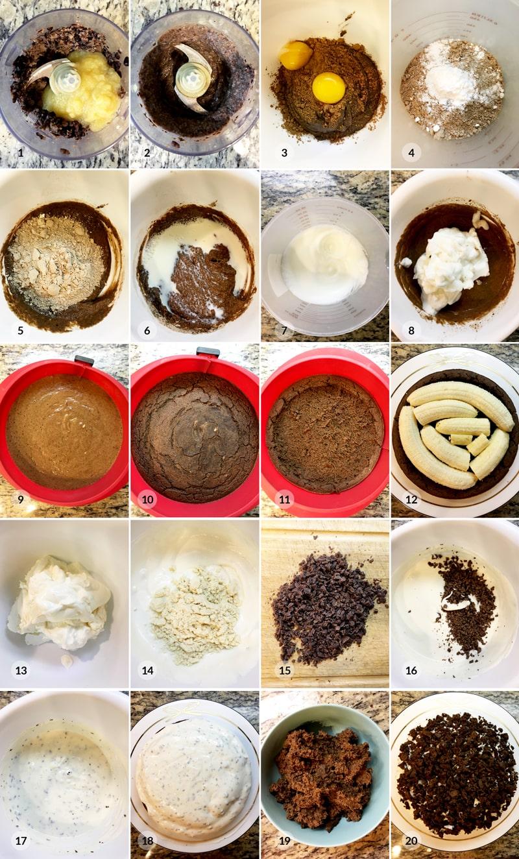 Fitness krtkův dort - zdravý recept Bajola