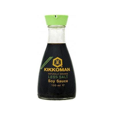 Přírodní sójová omáčka se sníženým obsahem soli Kikkoman