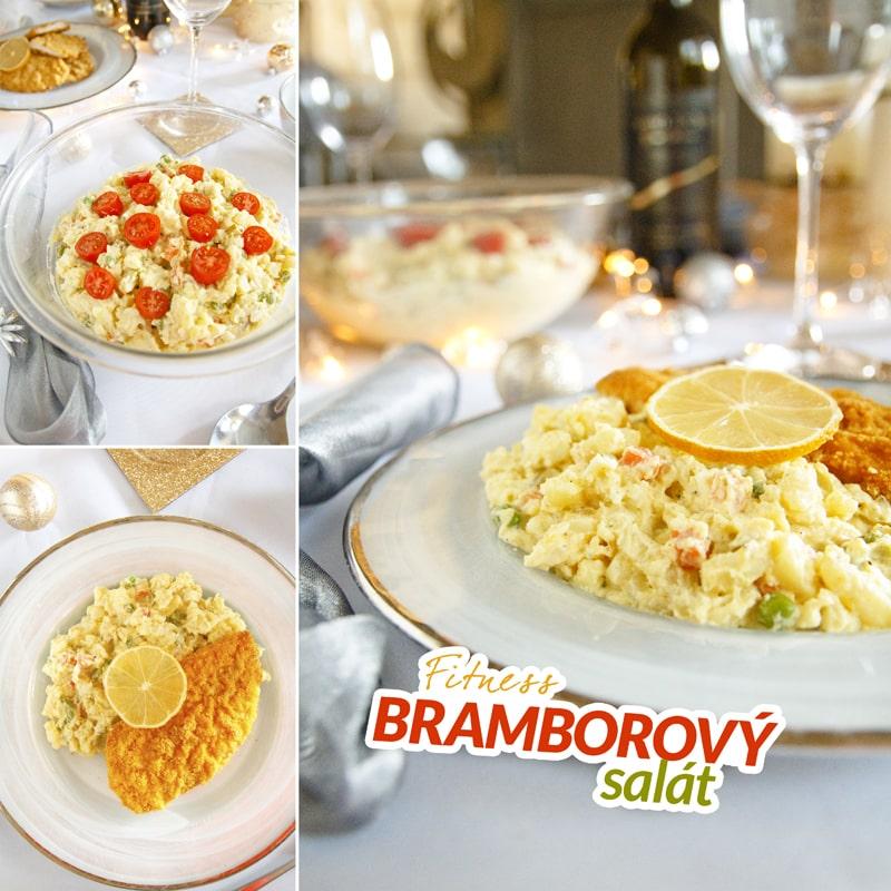 Fitness bramborový salát - zdravý recept Bajola