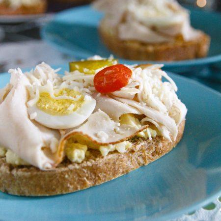 Fitness šunkové chlebíčky - zdravý recept Bajola