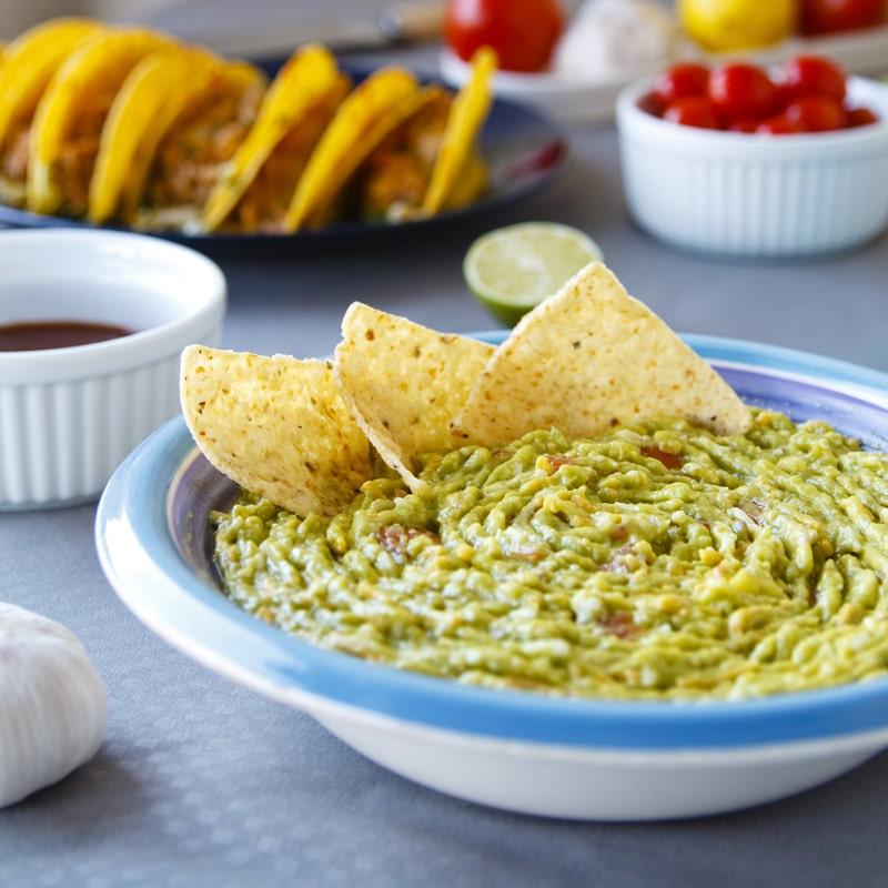 Fitness guacamole - zdravý recept Bajola