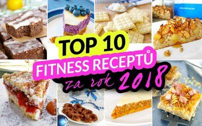 TOP 10 fitness receptů za rok 2018 by Bajola