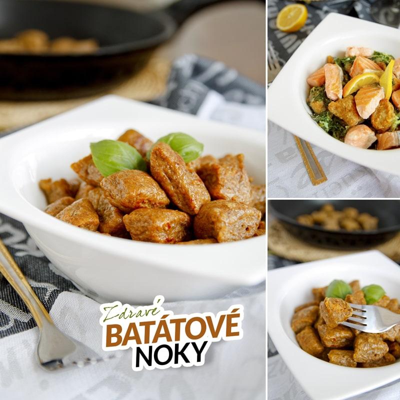 Zdravé batátové noky - fitness recept Bajola