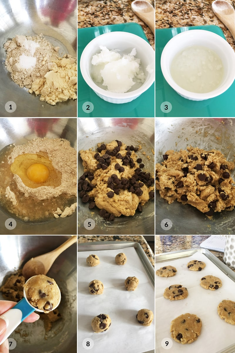Fitness proteinové cookies s čokoládou - zdravý recept Bajola