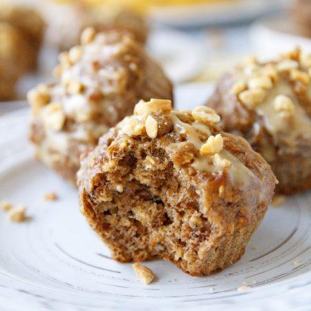 Banánové muffiny - zdravý fit recept Bajola