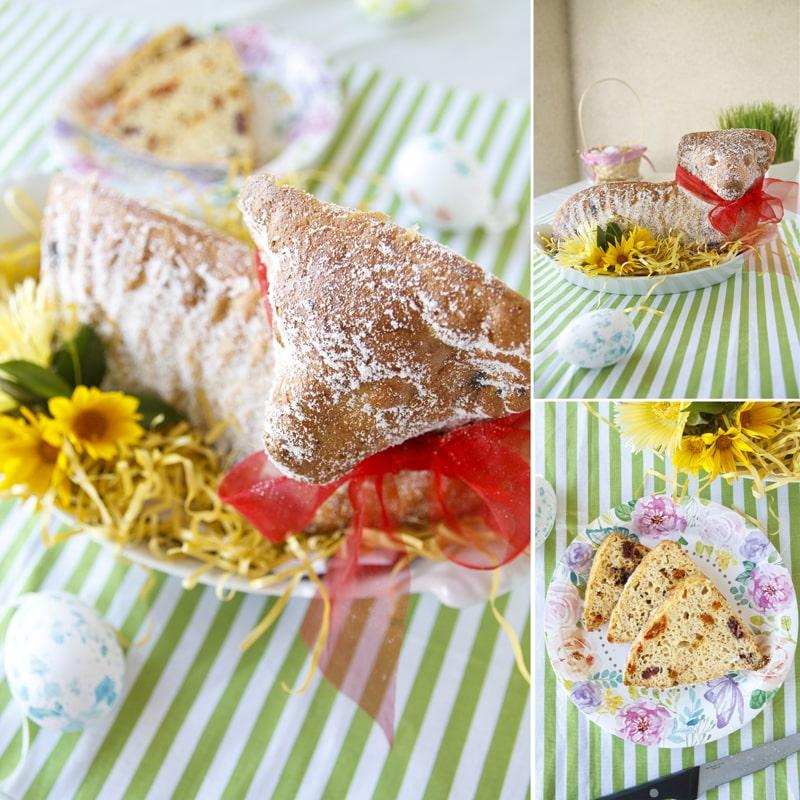 Beránek velikonoční tvarohový zdravý recept Bajola