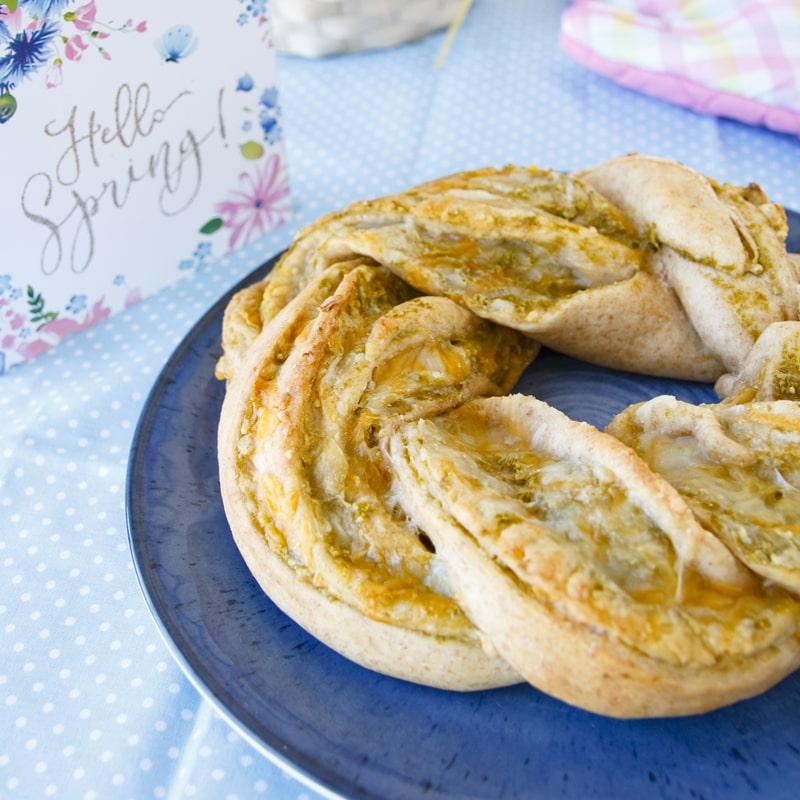 Fitness slaný velikonoční věnec- zdravý recept Bajola