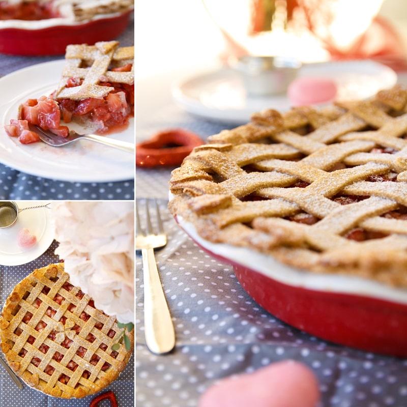 Fit jahodový koláč - zdravý recept Bajola