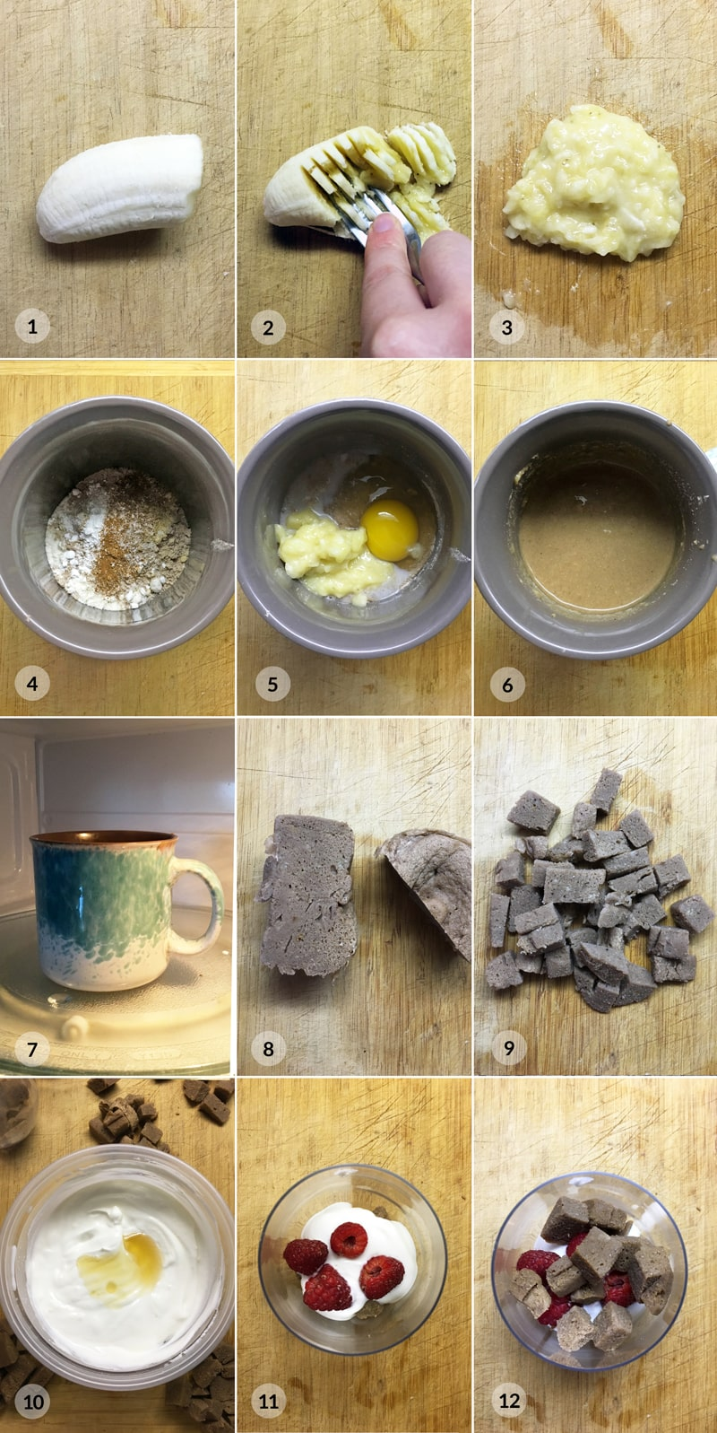 Tvarohový dezert s malinami - postup receptu