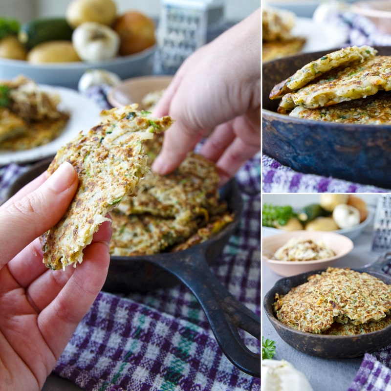 Zdravé cuketové bramboráky - recept Bajola
