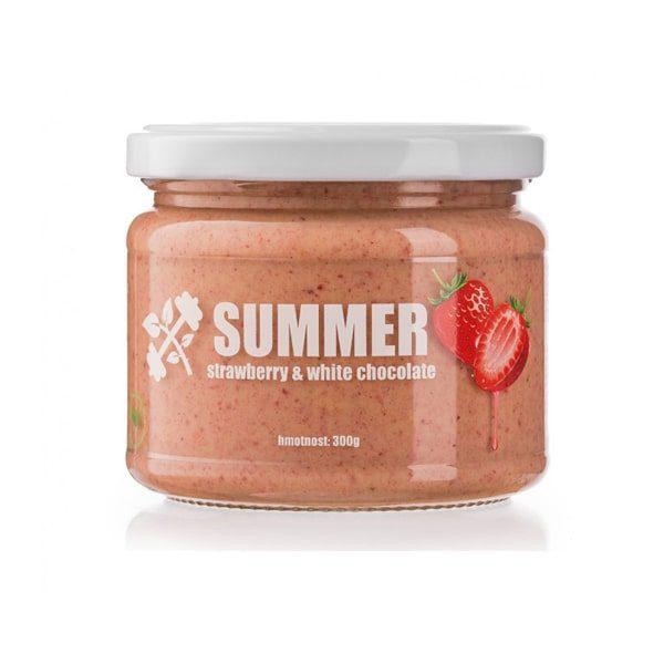 Lifelike Summer - jahodové ořechové máslo