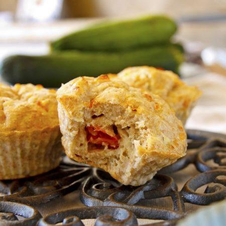 Fitness cuketové muffiny s tuňákem - recept Bajola