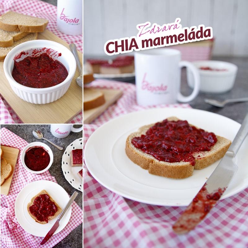 Zdravá chia marmeláda - domácí recept Bajola