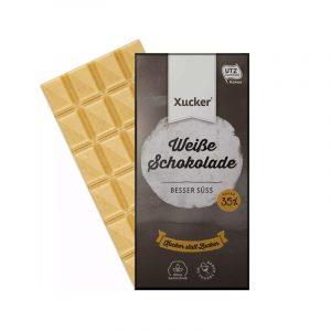 Bílá čokoláda bez cukru s xylitolem Xucker