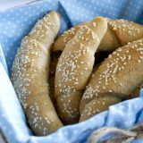 Zdravé domácí celozrnné rohlíky - recept Bajola