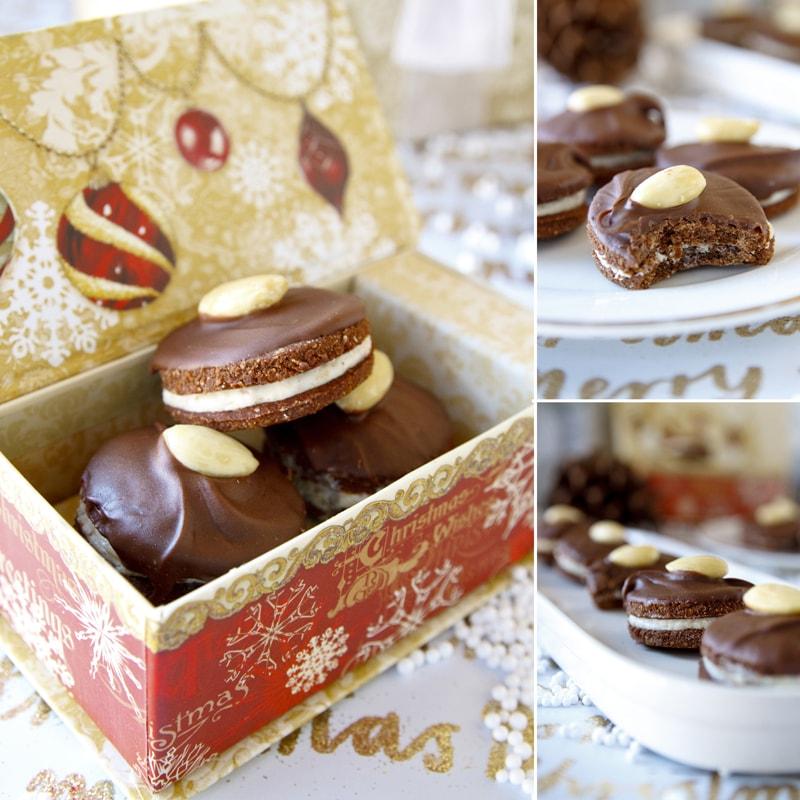 Fit išlské dortíčky - vánoční cukroví - recept Bajola
