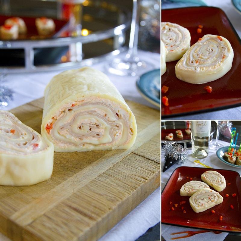 Fit sýrová roláda - recept Bajola