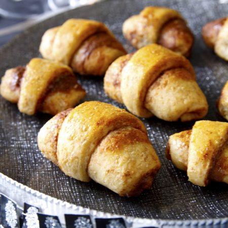 Fitness domácí celozrnné mini croissanty - recept Bajola