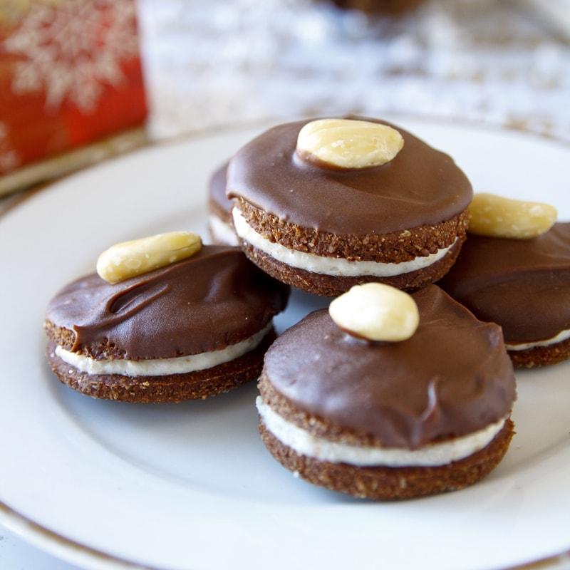 Fitness išelské dortíčky - vánoční cukroví - recept Bajola