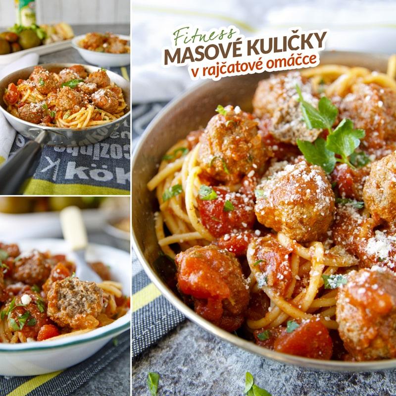 Fit masové kuličky v rajčatové omáčce - recept Bajola
