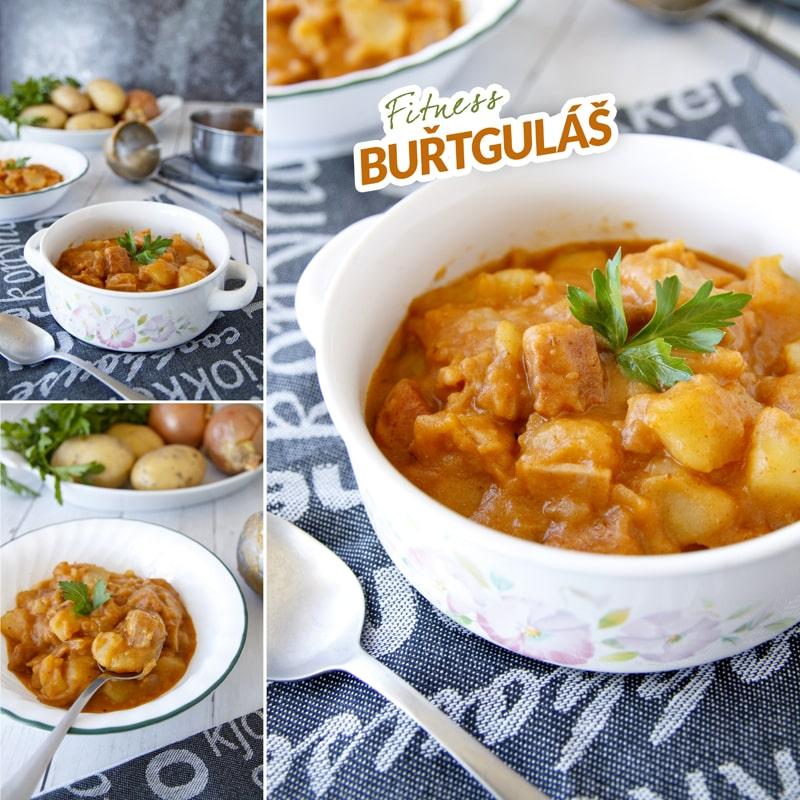Bramborový buřt guláš - recept Bajola