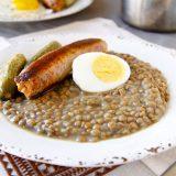 Zdravá čočka na kyselo bez mouky - recept Bajola