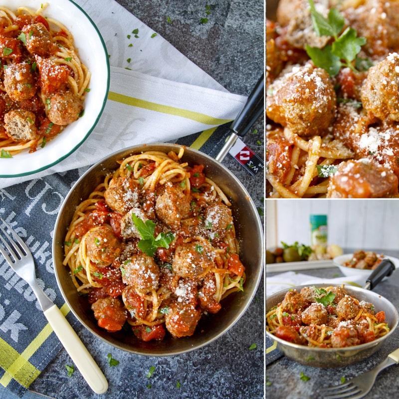 Zdravé masové kuličky v rajčatové omáčce - recept Bajola