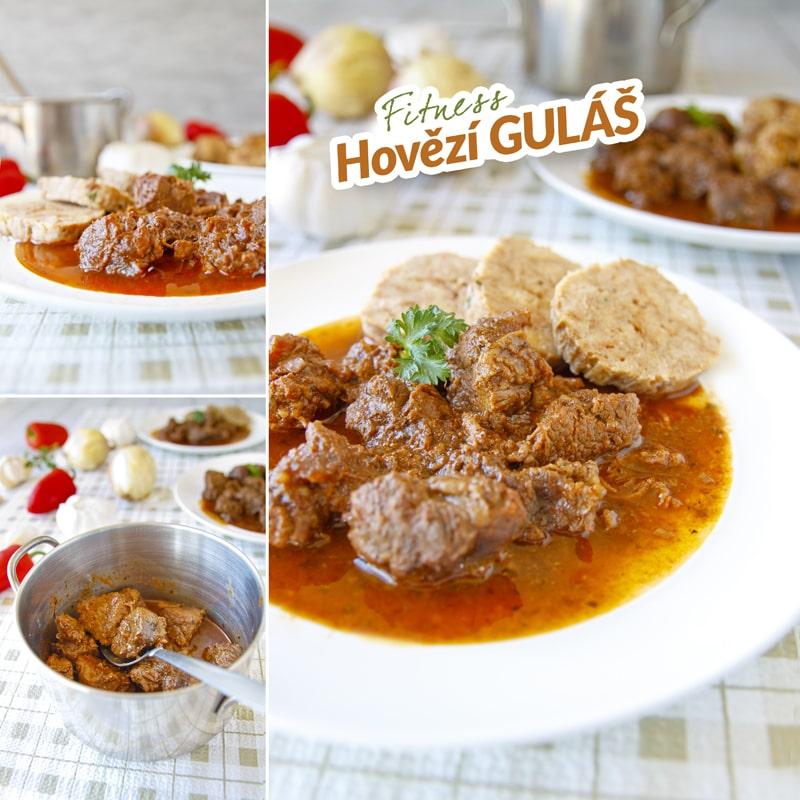 Zdravý hovězí guláš - recept Bajola