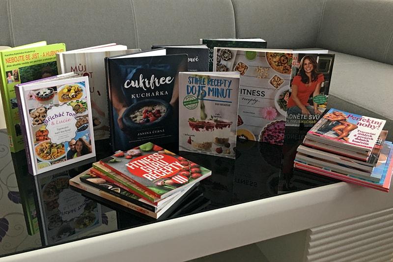 Velká soutěž o kuchařky a fit knížky s Bajolou