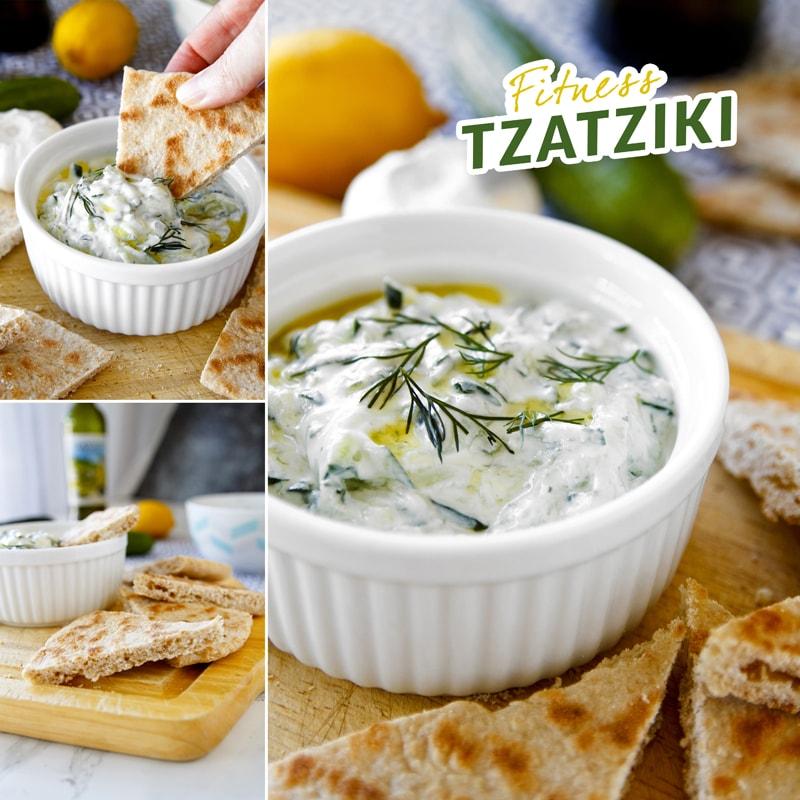 Fitness tzatziki - recept Bajola