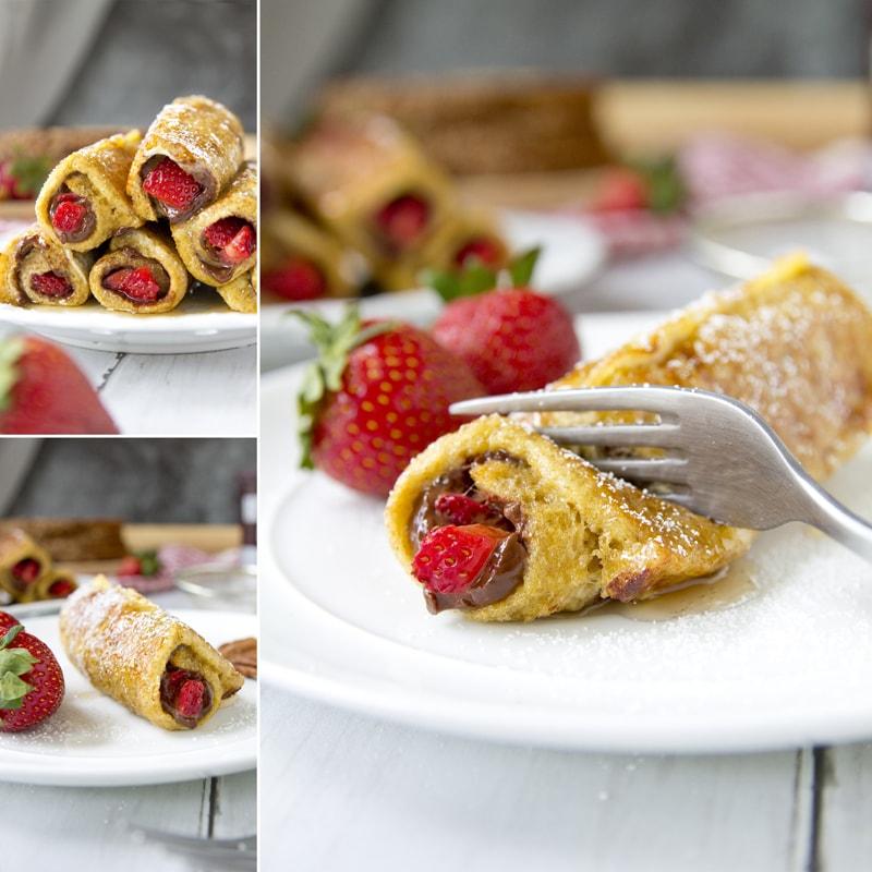 Zdravý celozrnný francouzský toast - recept Bajola